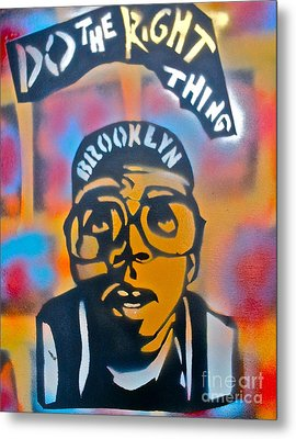 Do The Right Thing Metal Print by Tony B Conscious