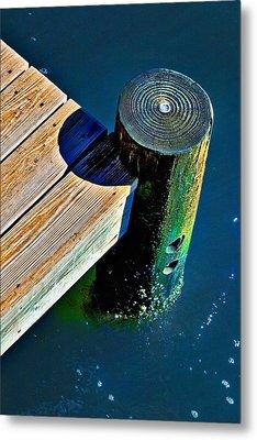Dock Metal Print by Robert Smith