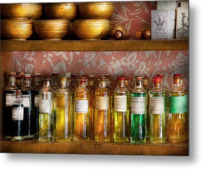 Doctor - Colorful Cures  Metal Print by Mike Savad