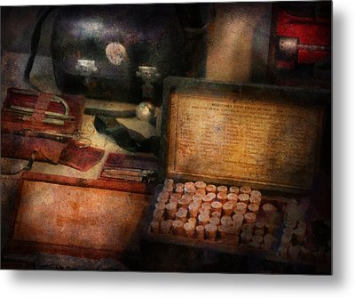 Doctor - Everything You Need To Be A Doctor Metal Print by Mike Savad