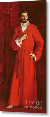 Doctor Pozzi At Home, 1881 Metal Print by John Singer Sargent