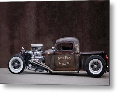 Dodgey Pete's Metal Print by Bill Dutting