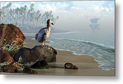 Dodo Afternoon Metal Print by Daniel Eskridge