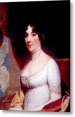 Dolley Madison 1768-1849, First Lady Metal Print by Everett