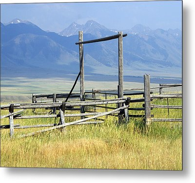 Don't Fence Me In Metal Print by Marty Koch