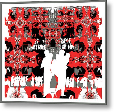 Doors To Eternity Metal Print by Olena Kulyk