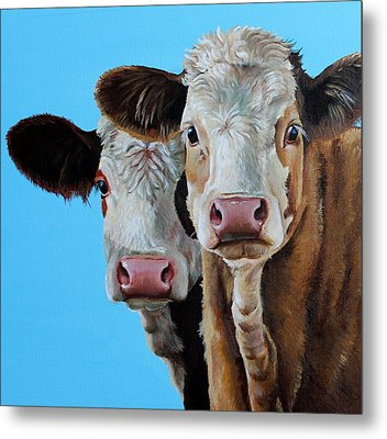 Double Dutch Metal Print by Laura Carey
