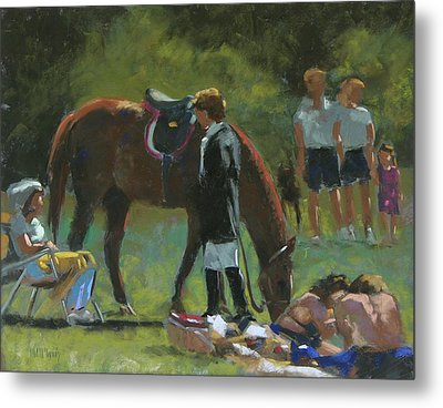 Down Time Metal Print by Mary McInnis