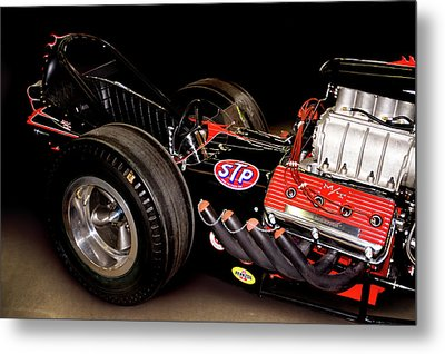 Dragster Metal Print by Charlie Prenzi