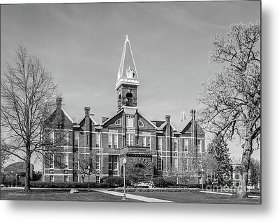 Drake University Old Main Metal Print by University Icons