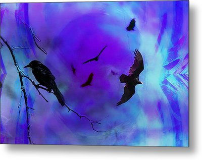 Dreaming Of Flying Metal Print by Bill Cannon