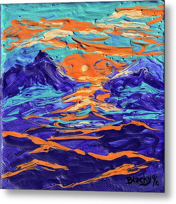 Dreaming Of The High Desert Metal Print by Donna Blackhall