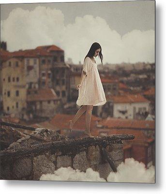 Dreams In Old Porto Metal Print by Anka Zhuravleva