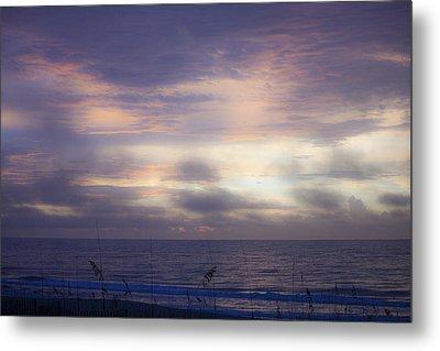 Dreamy Blue Atlantic Sunrise Metal Print by Teresa Mucha