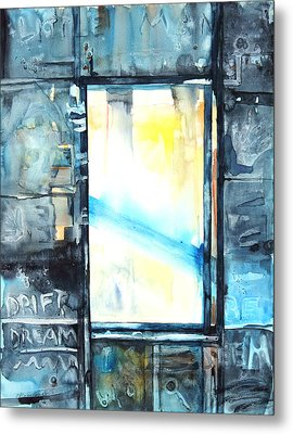 Drift Dream I Was There Metal Print by Patricia Allingham Carlson