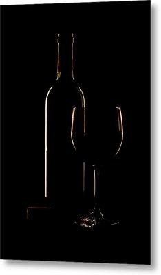 Drink Poured Metal Print by Andrew Soundarajan