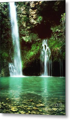 Dripping Springs In The Afternoon II Metal Print by Tamyra Ayles
