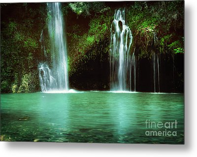 Dripping Springs In The Afternoon Metal Print by Tamyra Ayles