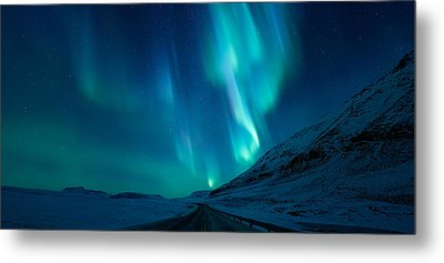 Driving Home Metal Print by Tor-Ivar Naess