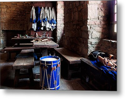 Drum Corps  Metal Print by Peter Chilelli