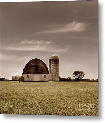 Dry Earth Crumbles Between My Fingers And I Look To The Sky For Rain Metal Print by Dana DiPasquale