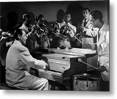 Duke Ellington And His Famous Orchestra Metal Print by Everett