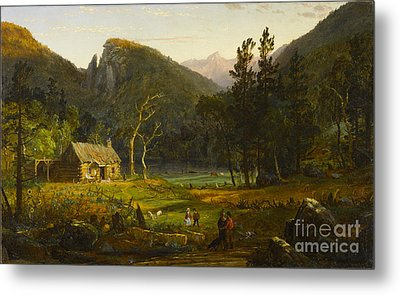 Eagle Cliff Franconia Notch New Hampshire Metal Print by Celestial Images