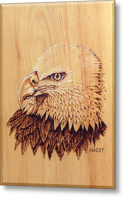 Eagle Img 2 Metal Print by Ron Haist