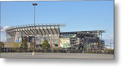 Eagles Football Stadium - The Linc Metal Print by Bill Cannon