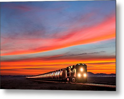 Early Morning Haul Metal Print by Todd Klassy
