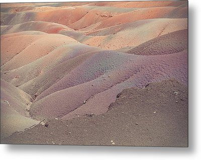 Earth Bodyscape.  Natural Abstract 6 Metal Print by Jenny Rainbow