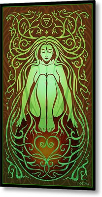 Earth Spirit Metal Print by Cristina McAllister