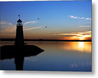East Warf Sunset Metal Print by Lana Trussell
