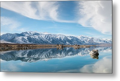 Eastern Sierra Nevada At Mono Lake Metal Print by Joseph Smith