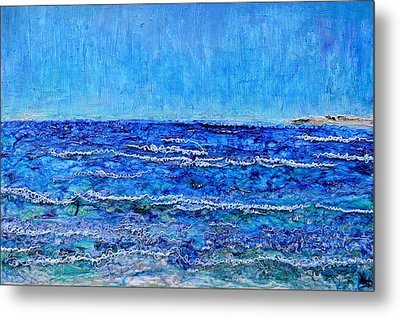 Ebbing Tide Metal Print by Regina Valluzzi