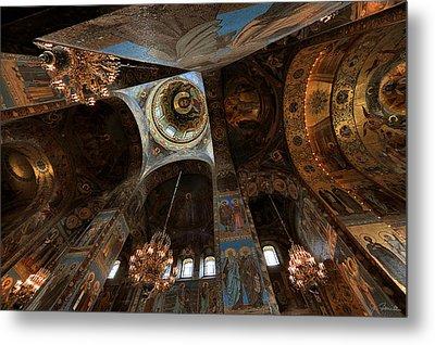 Ecclesiastical Ceiling No. 2 Metal Print by Joe Bonita