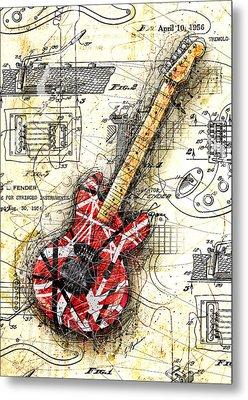 Eddie's Guitar II Metal Print by Gary Bodnar