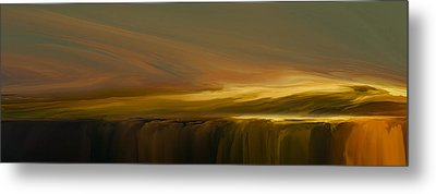 Edge Of Reality Metal Print by Lonnie Christopher