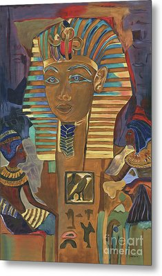 Egyptian Man Metal Print by Debbie DeWitt