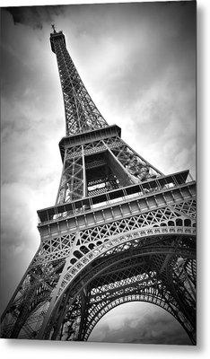 Eiffel Tower Dynamic Metal Print by Melanie Viola