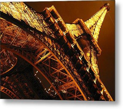 Eiffel Tower Paris France Metal Print by Gene Sizemore