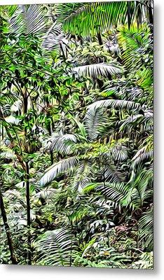 El Yunque Rainforest 4 Metal Print by Carey Chen