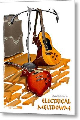 Electrical Meltdown Se Metal Print by Mike McGlothlen