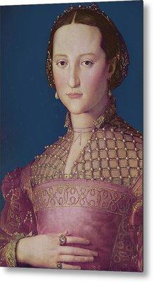 Eleonora Da Toledo Metal Print by Agnolo Bronzino