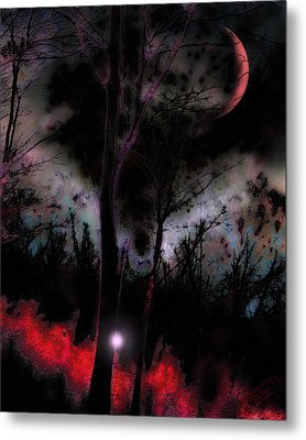 Elfenfeuer Metal Print by Mimulux patricia no