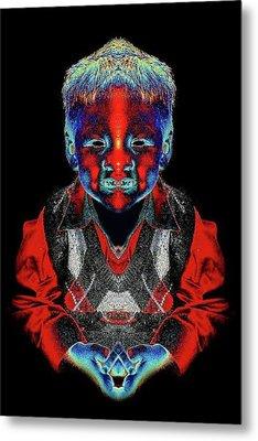 Elijah Metal Print by Tisha Beedle