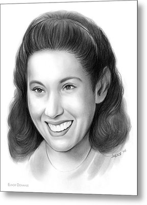 Elinor Donahue Metal Print by Greg JoensEleanor Donahue
