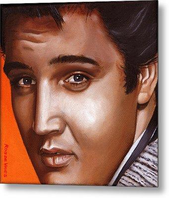 Elvis 24 1957 Metal Print by Rob De Vries