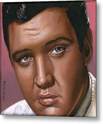 Elvis 24 1962 Metal Print by Rob De Vries