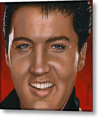 Elvis 24 1964 Metal Print by Rob De Vries